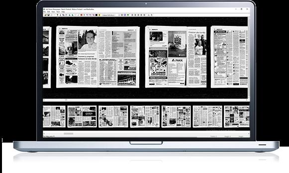 Digital Microfilm Archive