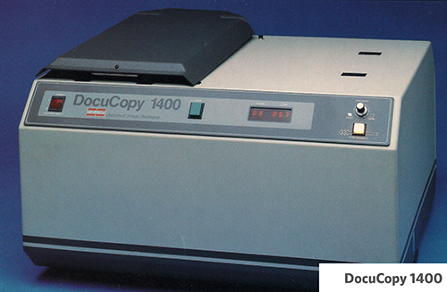 History of Microfilm Imaging DocuCopy 1400
